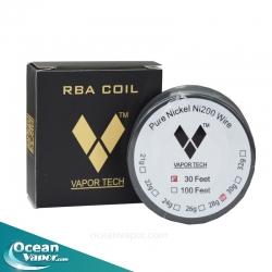 Pure Nickle Wire Ni 200 RBA Coil for Rebuildable Atomizer
