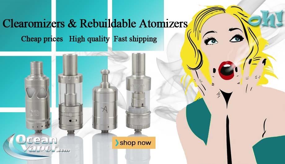 e cigarette vapor rda atomizer,rta atomizer
