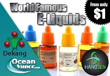 cheapest wholesale eliquid hangsen and dekang genuine